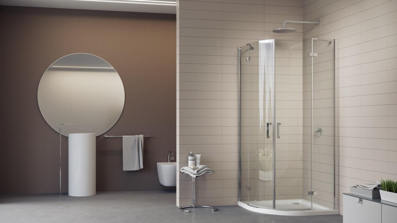 Creativo zen terrazza - Illuminazione bagno moderno ...