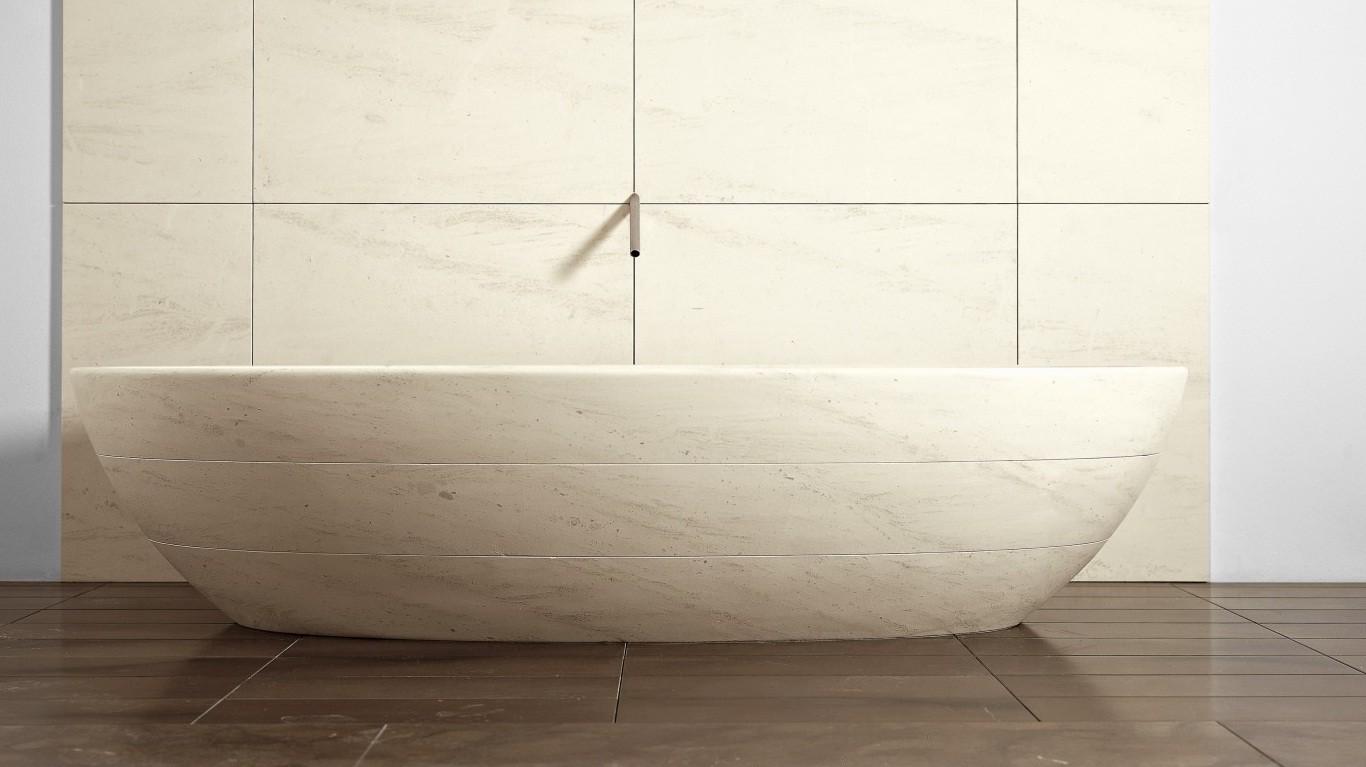 Vasche e piatti doccia commerciale veneta beltrame - Vasche da bagno in pietra ...