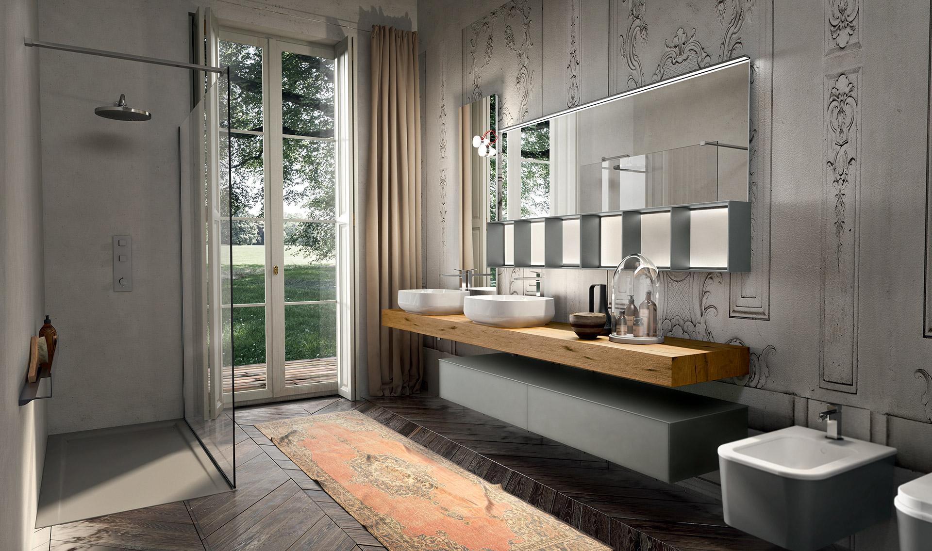 Arredobagno il tuo bagno moderno elegante classico - Bagno rustico moderno ...