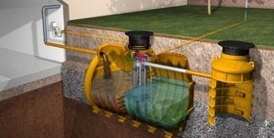 Depuratore per acque reflue