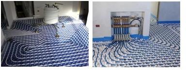 Sistemi radianti - pavimento