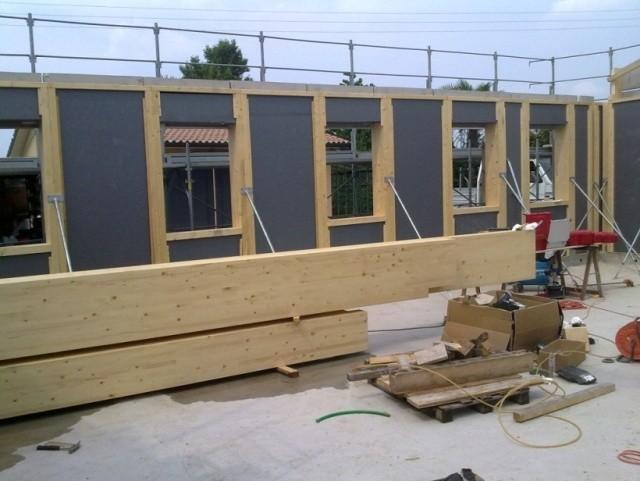 La climatizzazione nelle case prefabbricate in legno for Case in legno prefabbricate