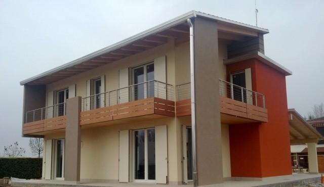 La climatizzazione nelle case prefabbricate in legno for Come leggere i piani del cantiere