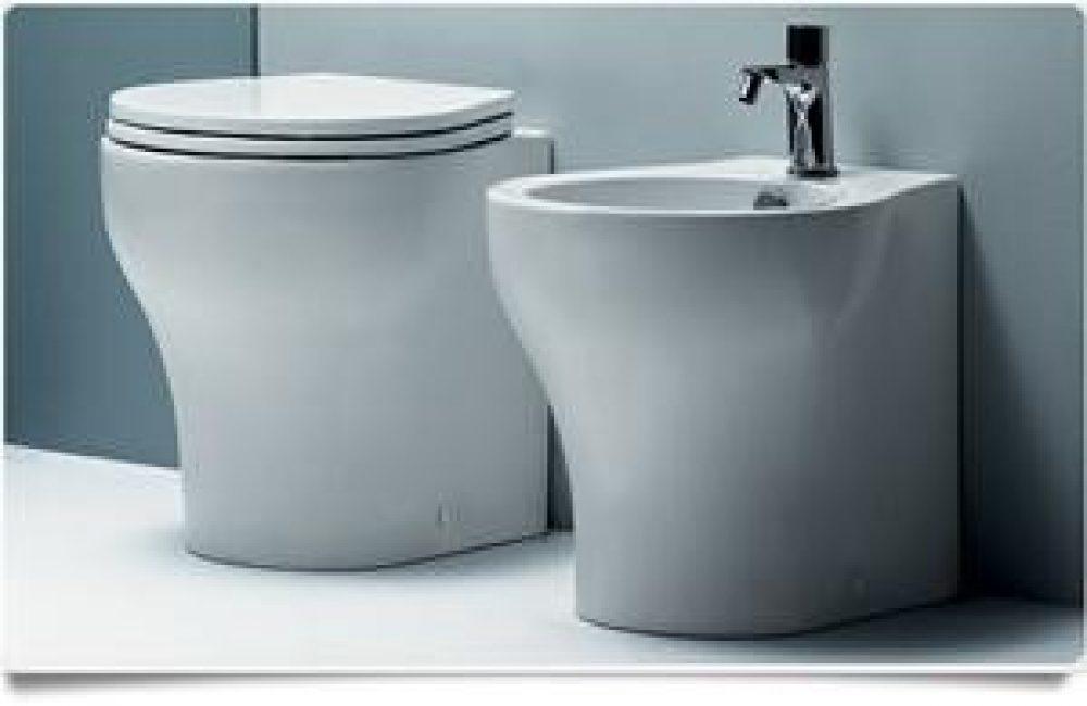 Azzurra sanitari vera mini 48 vaso e bidet a pavimento commerciale