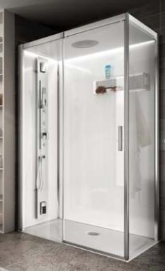 Teuco reloaded cabina doccia 120x80 commerciale veneta - Cabina doccia teuco prezzi ...
