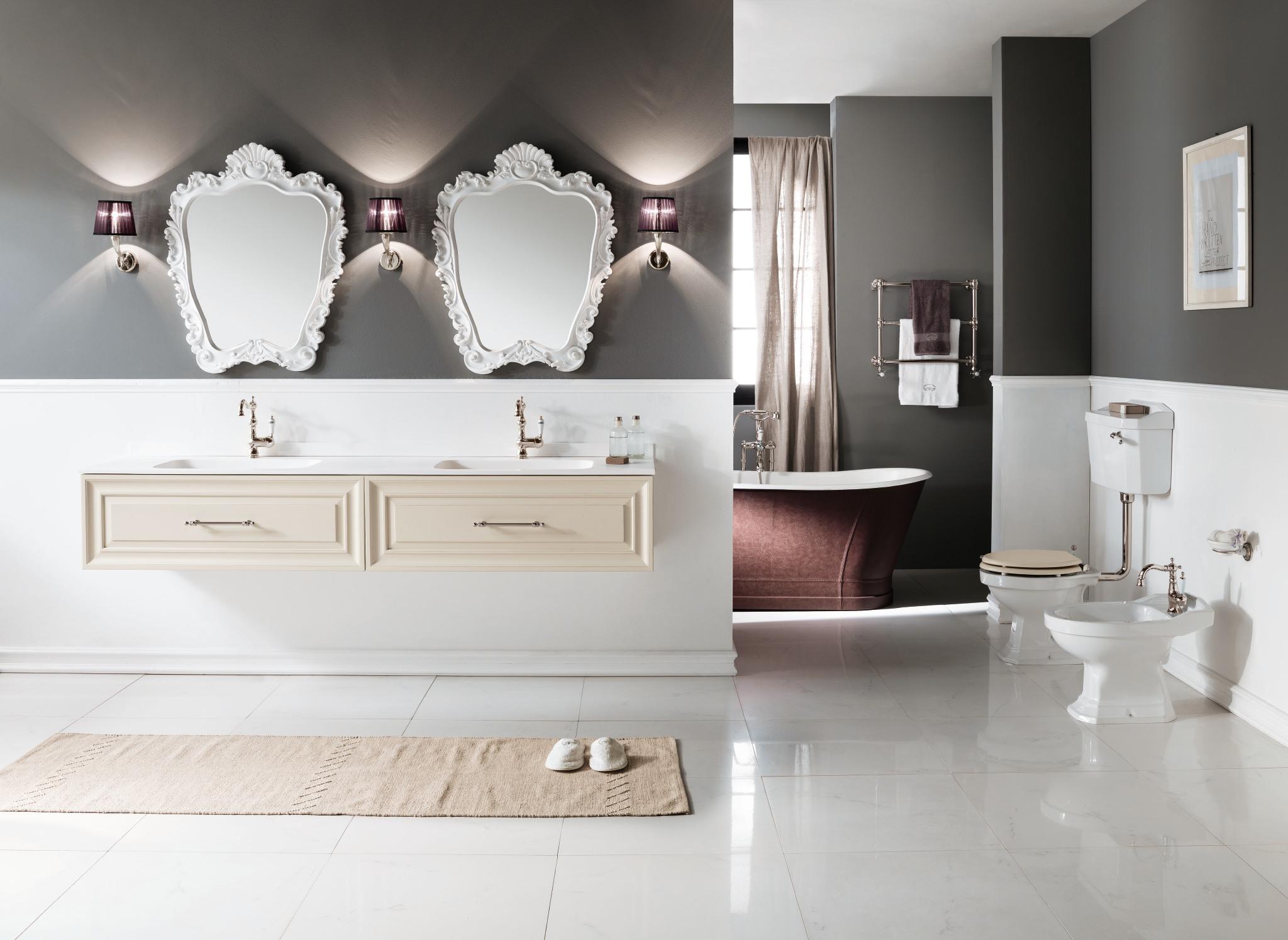 Arredobagno il tuo bagno moderno elegante classico - Costruire mobile bagno ...