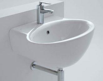 CERAMICA DOLOMITE Zelig lavabo monoforo 65×45 cm